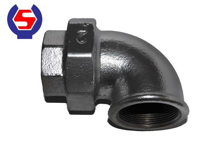 96 Elbows Union Female Conical Joint Iron To Iron